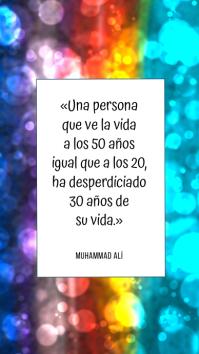 citación de muhammad ali inspiracional
