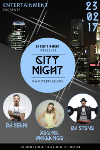 City Night Party Template