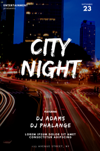 City Party Night Club Flyer Template