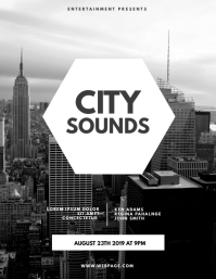 City Sounds Flyer Template