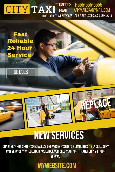 City Taxi Service Template