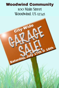City-Wide Garage Sale Flyer