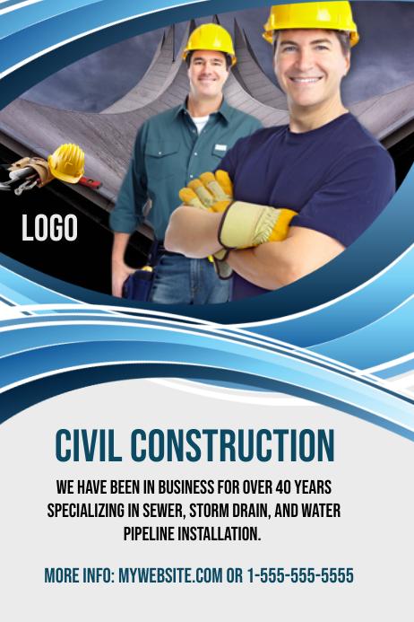 Civil Construction Template