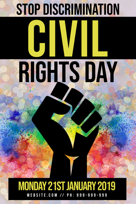 Civil Rights Day Poster