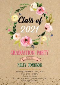 Class of Graduation party invitation