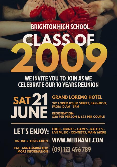 Class Reunion Flyer