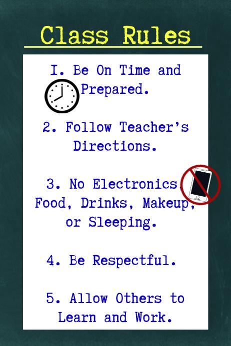 Class Rules Basic