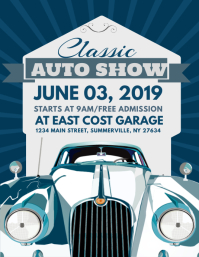 Customizable Design Templates For Car Show Event PosterMyWall - Free car show flyer template