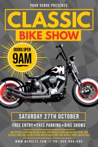 Classic Bike Show Poster