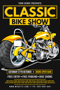 Classic Bike Show Poster
