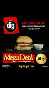 Classic Burger Megadeal Video Post