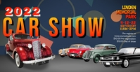 classic car show facebook event cover template