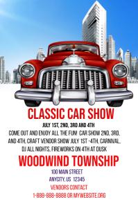 Customizable Design Templates For Hot Rod Show PosterMyWall - Fun car show ideas