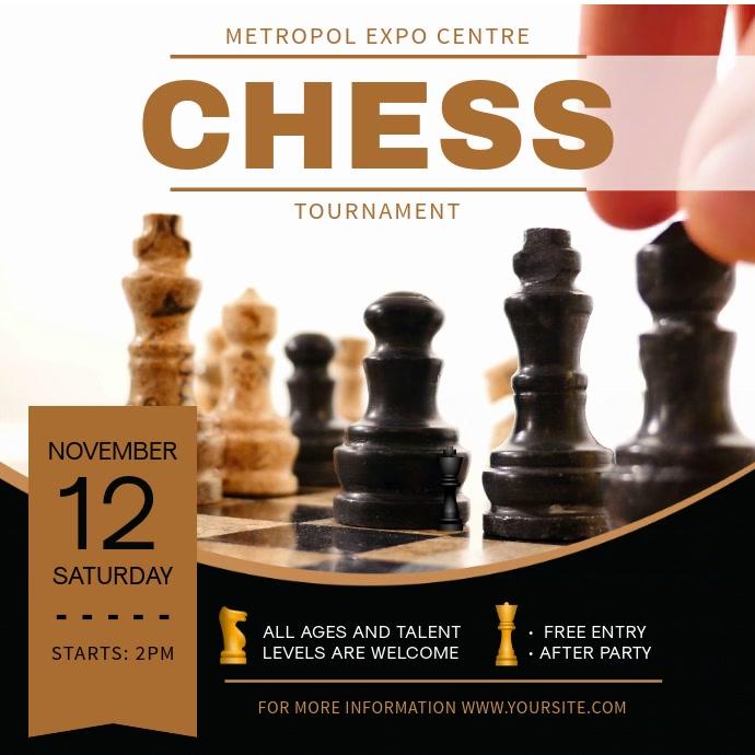 Classic Chess Tournament Square Video