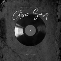 Classic Song Mixtape Album Cover Template Okładka albumu