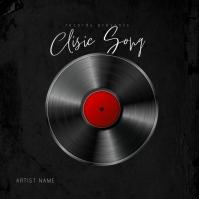 Classic Song Mixtape Album Cover Template Pochette d'album