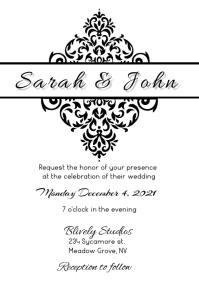 CLASSIC WEDDING INVITE