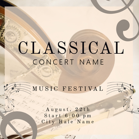 Classical Concert Instagram Template