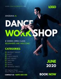 Classical Dance Workshop Flyer