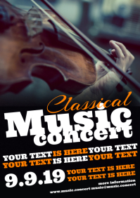 CLASSICAL MUSIC CONCERT POSTER