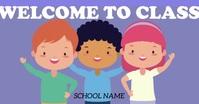 Classroom header Imagen Compartida en Facebook template