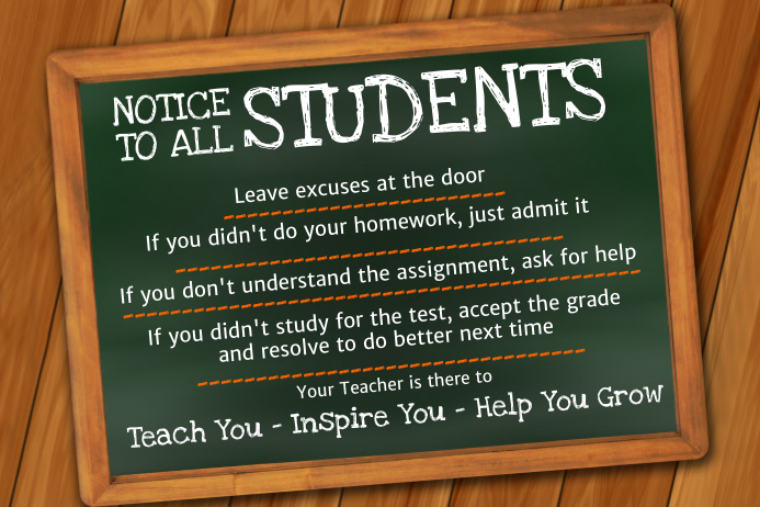 Classroom Poster Template