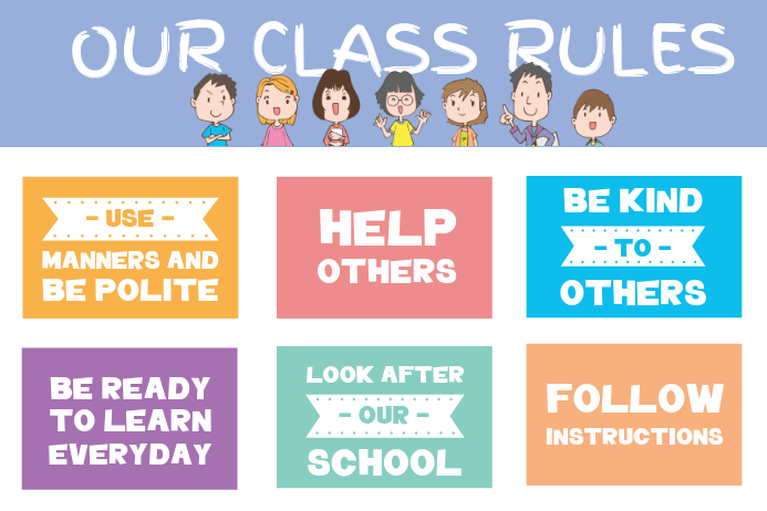 photo relating to Kindergarten Classroom Rules Printable referred to as Develop a Clroom Laws Poster PosterMyWall
