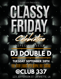 CLASSY FRIDAY CLUB FLYER TEMPLATE