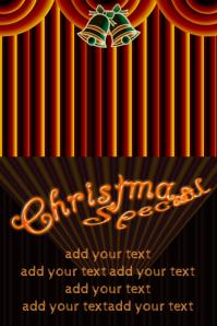 classy tasteful christmas show performance