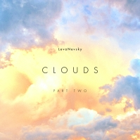 Clean Simple Template Cloud CD Cover Music