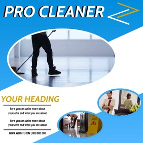 CLEANER AD DIGITAL VIDEO SOCIAL MEDIA