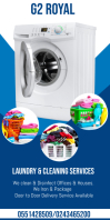 Cleaning & Laundry service Flyer