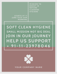 Cleaning Awareness Flyer Template