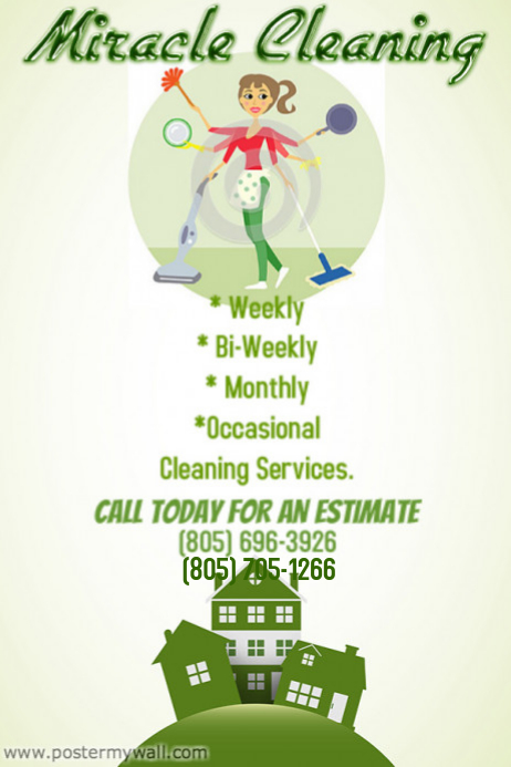cleaning business flyer ideas
