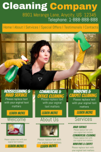 Cleaning Company Template