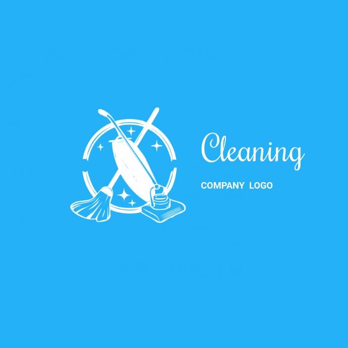 Cleaning company logo Ilogo template