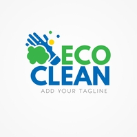 Cleaning Company Logo Template