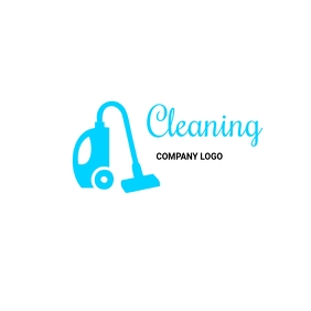 Cleaning company logos 徽标 template