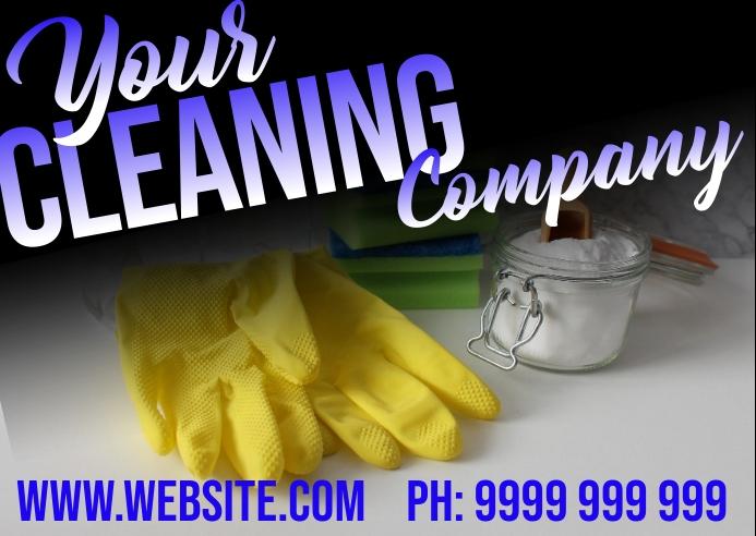 cleaning Kartu Pos template
