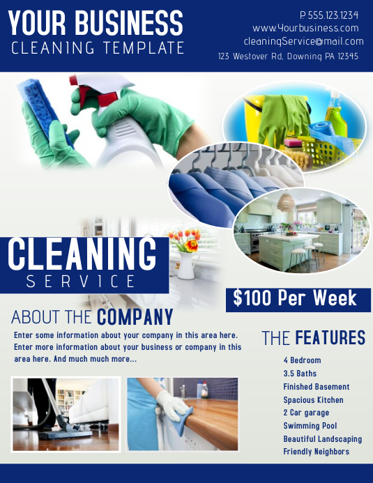 Cleaning template postermywall for Laundry flyers templates