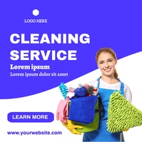 Cleaning post template