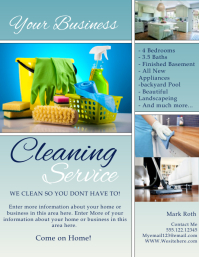 Cleaning service flyer templates postermywall cleaning service flyer cleaning similar design templates pronofoot35fo Image collections