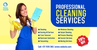 Cleaning Service Ad Isithombe Esabiwe ku-Facebook template