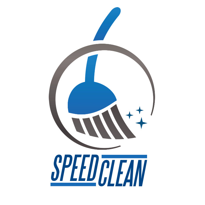 Cleaning service company logo Ilogo template
