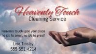 Cleaning Service Biglietto da visita template