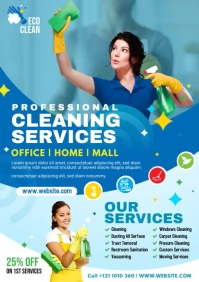 Cleaning Service Flyer A4 template