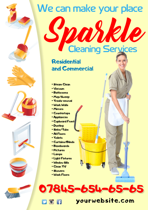 copy of cleaning service flyer