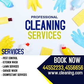 Cleaning Service Flyer for Instagram