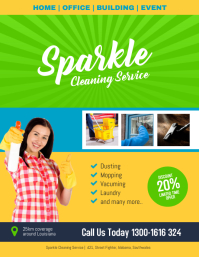 Cleaning Service Flyer Poster