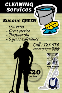 Cleaning Services Flyer and Poster - PosterMyWall